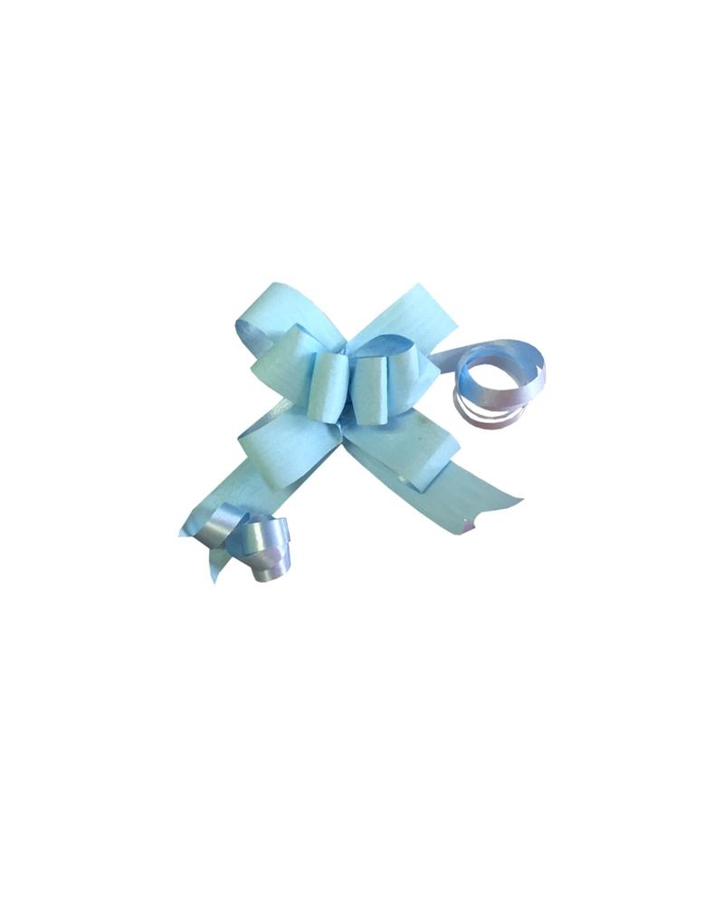 Laço de Puxar Mate Azul Bébé 13mm - Azul Claro - 13mm - LÇ0273