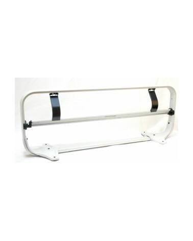 Porta Rolo de Mesa Standard com Serrilha 75cm - Cinza - 75cm - DS0158