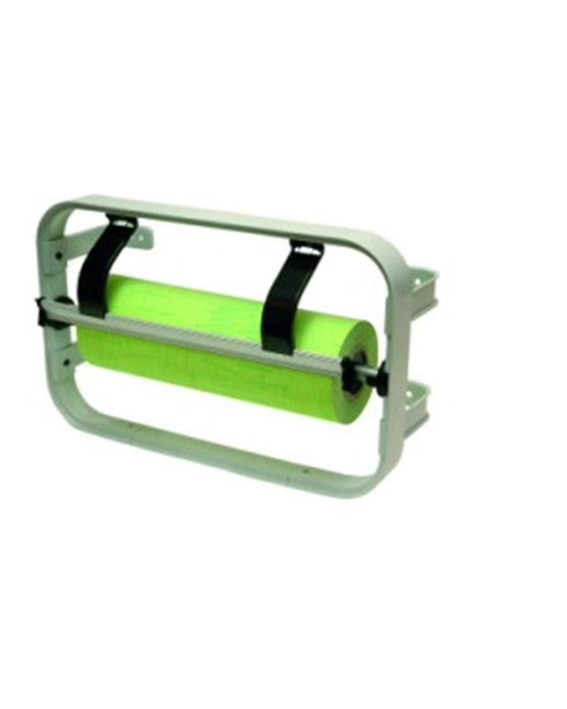 Porta Rolo de Parede Standard com Serrilha 40cm - Cinza - 40cm - DS0159