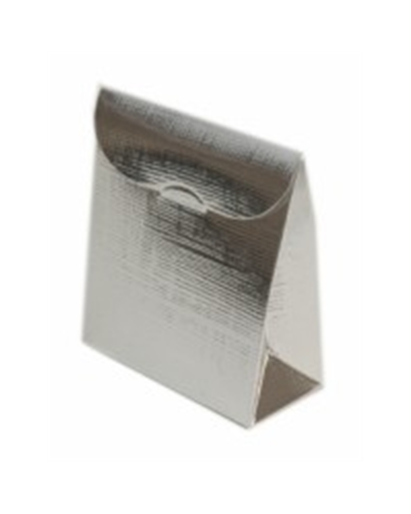 Caixa Seta Argento Sacchetto PO - Prateado - 70x35x80mm - CX2499
