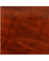 Caixa Raiz de Nogueira p/Brincos - Castanho - 6x6x4.5 - EO0145