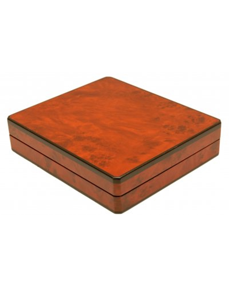 Caixa Raiz de Nogueira p/ Set - Castanho - 20x23x5 - EO0160