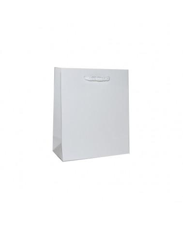 Saco Asa Cordão Branco com Corte para Fita - Branco - 14+07x17 - SC1088