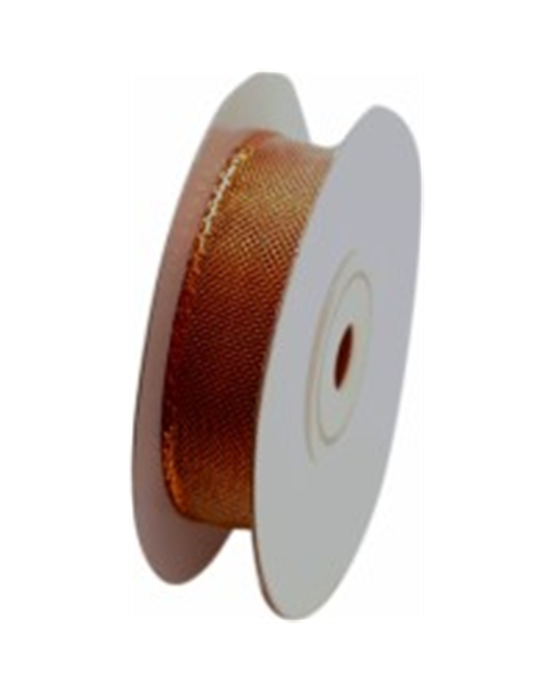 FT3761 | Fitas | Metalized Copper Organza Ribbon