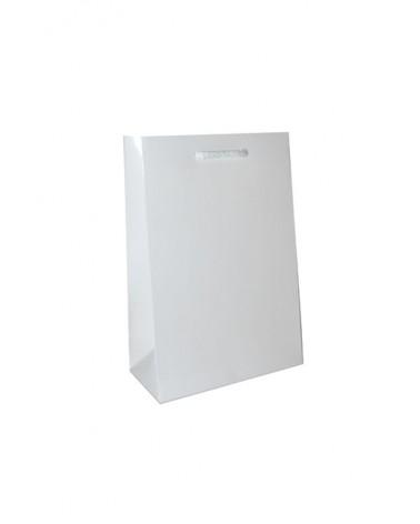 Saco Asa Cordão Branco com Corte para Fita - Branco - 16+08x24 - SC1089