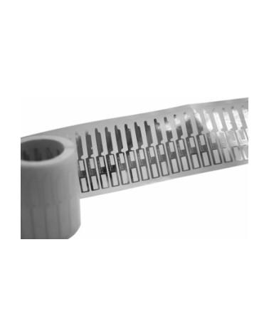 Etiqueta Prata de Lei (rolo c/1000) - Prateado - 1.8x0.9cm - ET3837