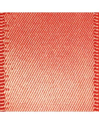 Rolo Fita Cetim Dupla Face Salmão - Salmão - 16mmx25mts - FT5316