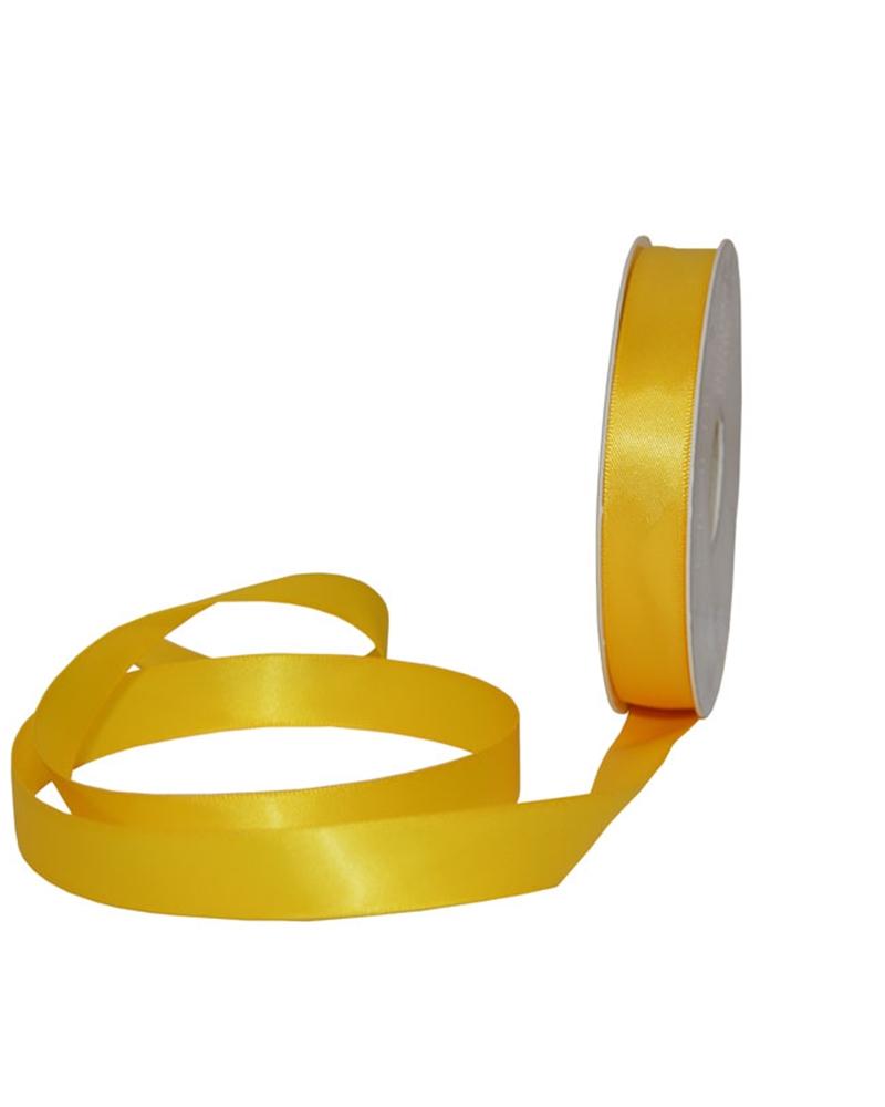 Rolo Fita Cetim Dupla Face Amarelo - Fuxia - 16mmx25mts - FT5320