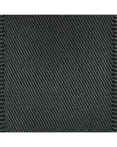Rolo Fita Cetim Dupla Face Preto - Preto - 25mmx25mts - FT5299