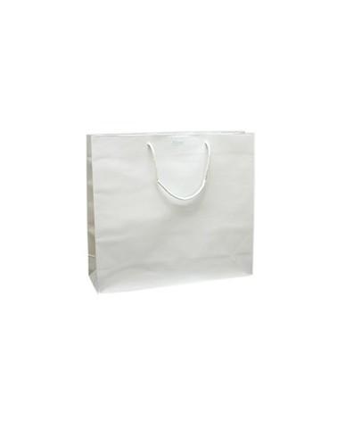 Saco Asa Cordão Branco com Corte para Fita - Branco - 40+12x36 - SC1131