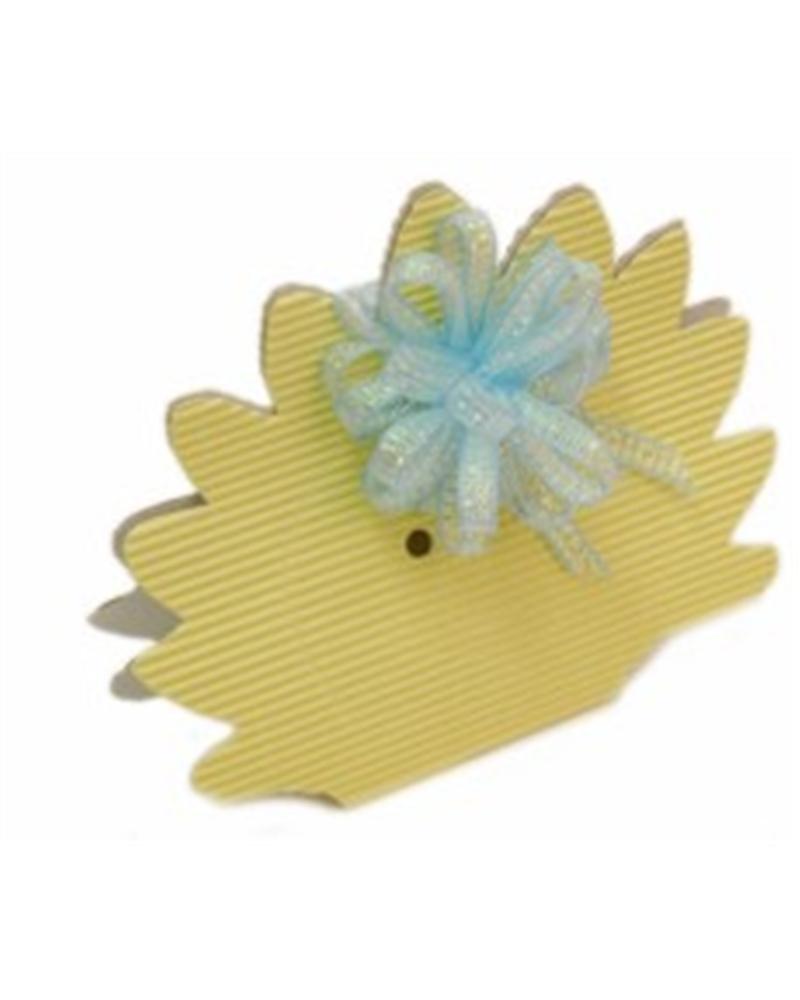 Caixa Scatoline Sole Giallo - Amarelo - 60X35X100mm - CX0348