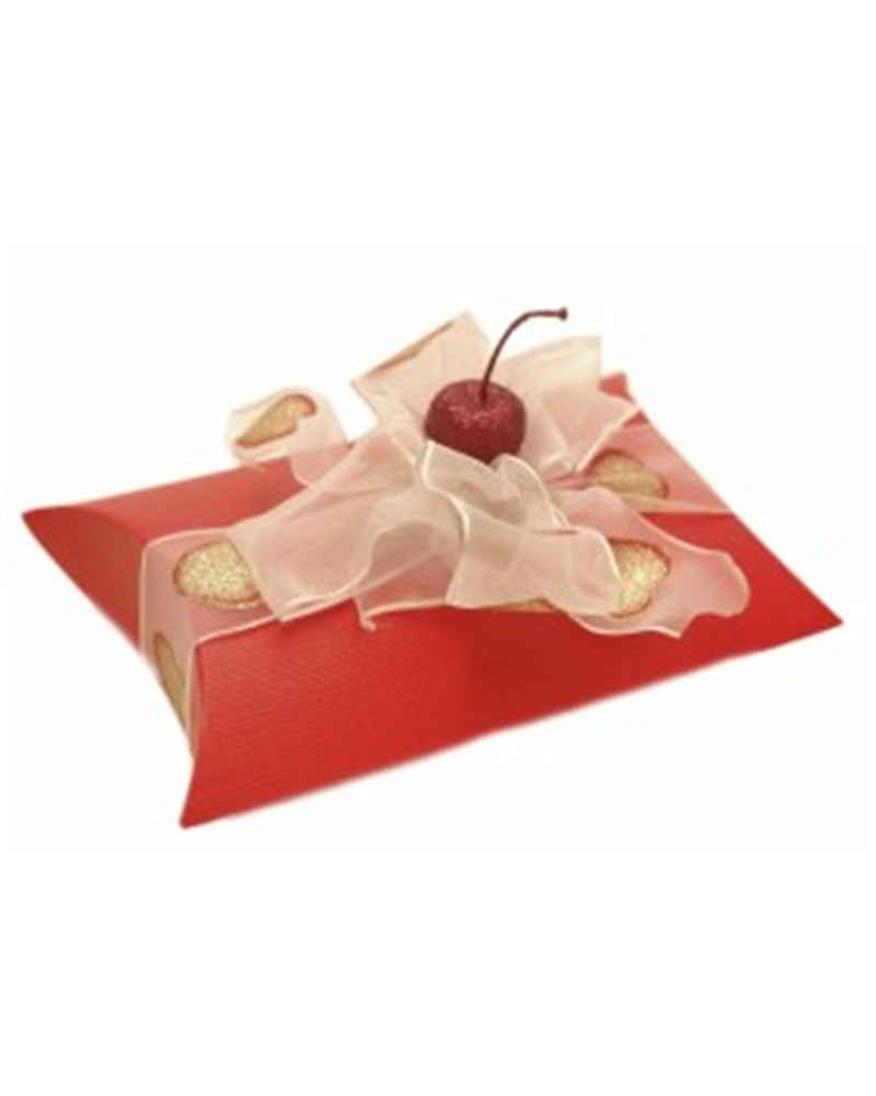 Caixa Seta Rosso Busta - Vermelho - 145x130x40mm - CX1901