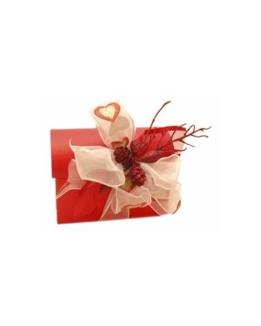 Caixa Seta Rosso Cofanetto - Vermelho - 130x90x95mm - CX1909