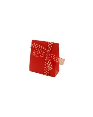 Caixa Seta Rosso Sacchetto PO. - Vermelho - 70x35x80mm - CX1911