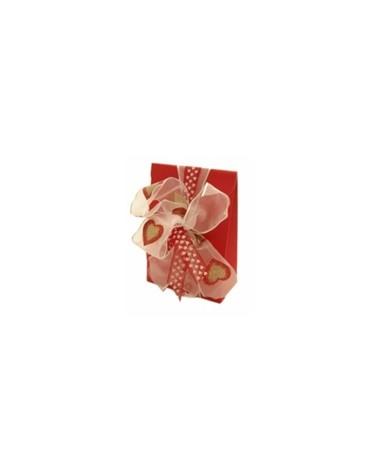 Caixa Seta Rosso Sacchetto PO. - Vermelho - 90x45x130mm - CX1912
