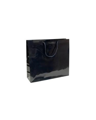 Saco Asa Cordão Azul com Corte para Fita - Azul - 40+12x36 - SC1328