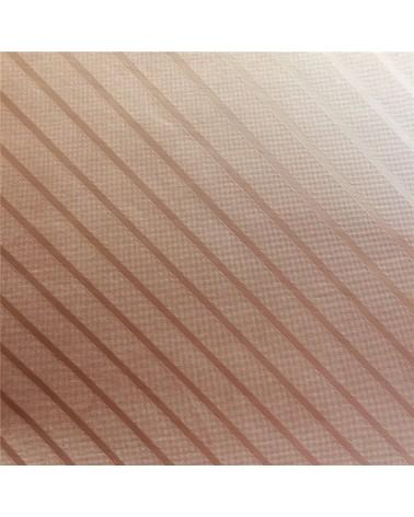 Papel King Foil Riscas Bege - Bege - 50x70cm - PP1807