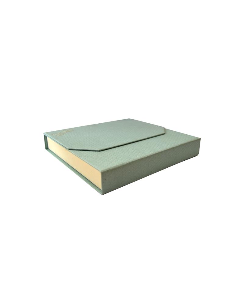 Caixa  Verde Agua para Colar - Verde - 15.3x15.5x3 - EO0251