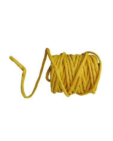 """Rolo de Fita """"Rope Corda"""" Amarelo - Amarelo - 10cmx25mts - FT3139"""