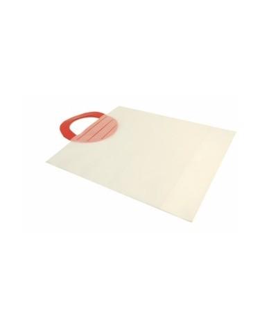 Saco AP Vermelha Polietileno Natural - Transparente - 40.6x48.2 - SC1920