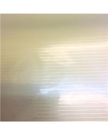 Papel Laminado Riscas Bege - Bege - 70x100cm - PP1842