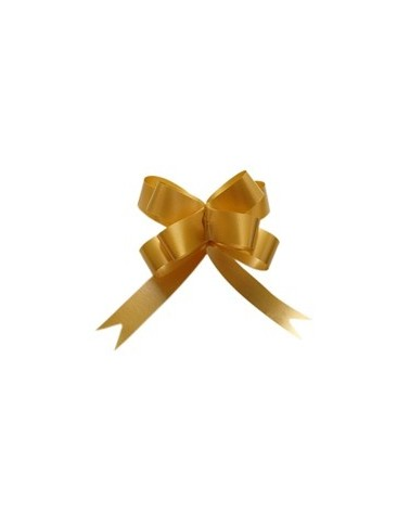 Laço De Puxar  Seda Amarelo Torrado 12mm - Amarelo - 12mm - LÇ0396