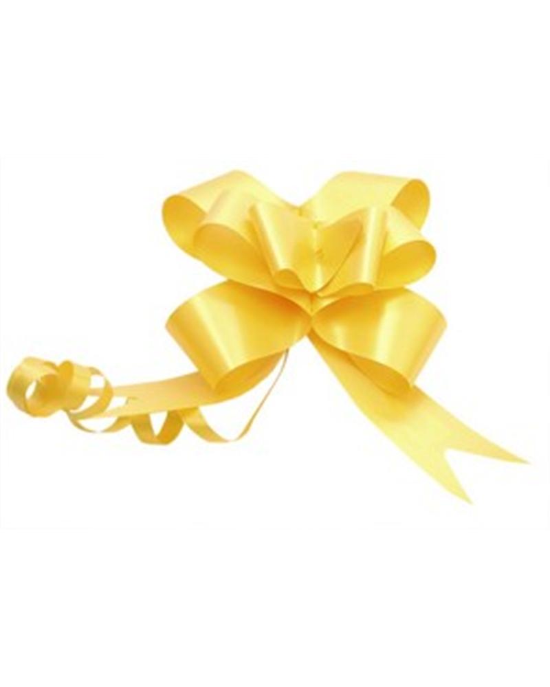 Laço de Puxar de Seda Amarelo Cl. 32mm - Amarelo - 32mm - LÇ0410