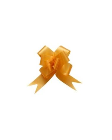 Laço de Puxar de Seda Amarelo Torrado - Amarelo - 32mm - LÇ0413