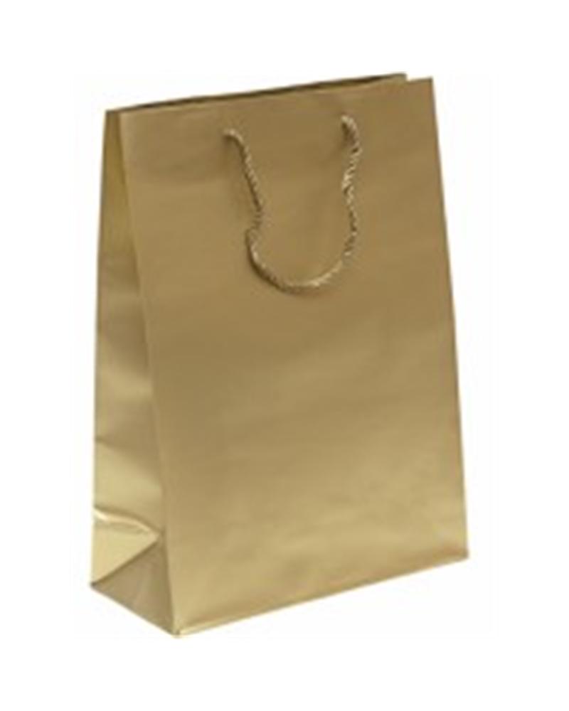 Saco Asa Cordão Shopp Dourado - Dourado - 27+12x37 - SC2481