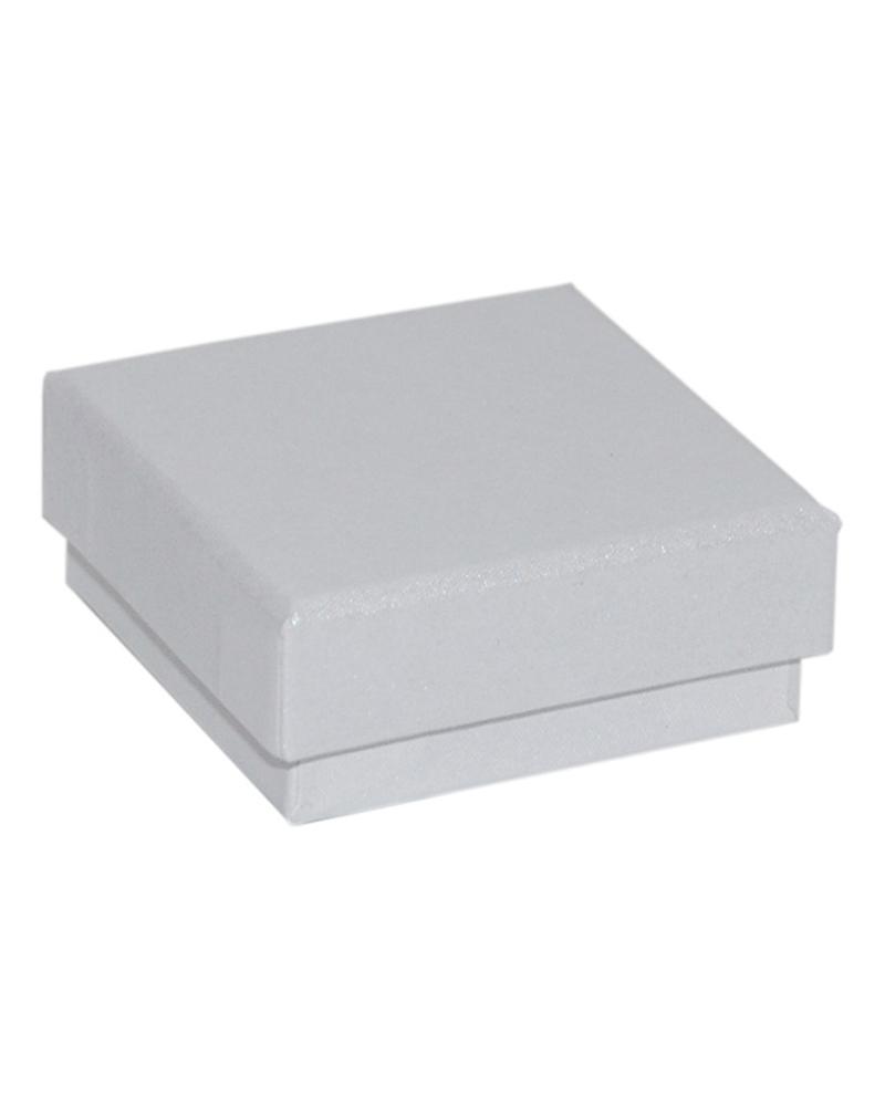 Caixa Linha Perola Branca p/ Pendente Pequena - Branco - 6.5x6.5x2.6cm - EO0683