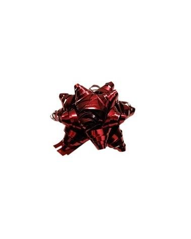 Rolo Fita Metalizada Mate Vermelho 31mm - Vermelho - 31mmx100mts - FT4096