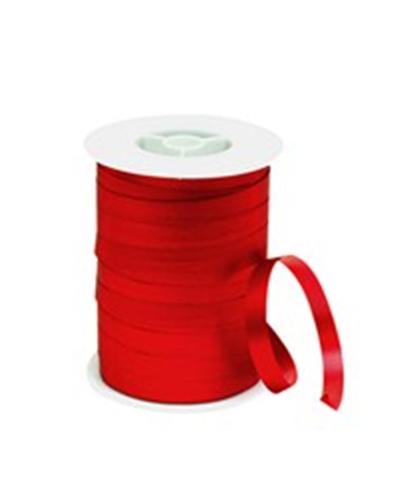 Rolo Fita Metalizada Mate Vermelho 10mm - Vermelho - 10mmx250mts - FT4094