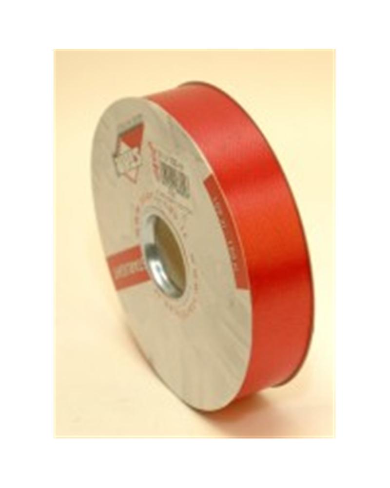 """Rolo Fita de Seda """"Cotton"""" Vermelho - Vermelho - 31mmx100mts - FT2280"""