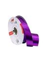 Rolo Fita Metalizada Gofrada Roxo 31mm - Roxo - 31mmx75mts - FT4123