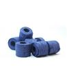 "Rolo Fita Artesenal Wrinkle Azul  1""x10mts - Azul - 23mmx10mts - FT4488"