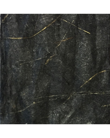 "Rolo Fita Artesenal Wrinkle Preto 1""x10mts - Preto - 23mmx10mts - FT4501"