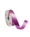Rolo Fita Metalizada Gofrada Rosa 31mm - Rosa - 31mmx75mts - FT4126