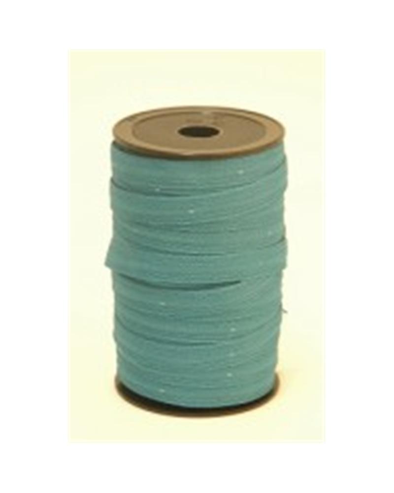 Fita Tecido C/Tirante Azul 10mm - Azul - 10cmx25mts - FT3396