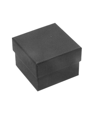 Caixa Linha Black Stripes p/ Anel - Preto - 4.5x4.5x3.2cm - EO0636