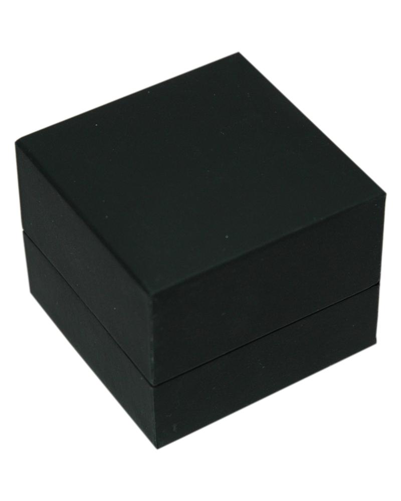 Caixa Linha LX Black Mate p/ Anel - Preto - 5.5x5.5x4.5cm - EO0652