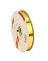 Rolo Fita Metalizada Dourado 19mm - Dourado - 19mmx100mts - FT0220