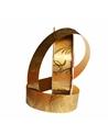 Rolo de Fita Metalizada Dourado c/Arabescos 31mm - Dourado - 31mmx100mts - FT4140