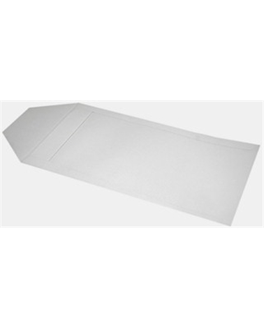 Saco c/Pala A/B Branco - Branco - 16x28cm - SC1387