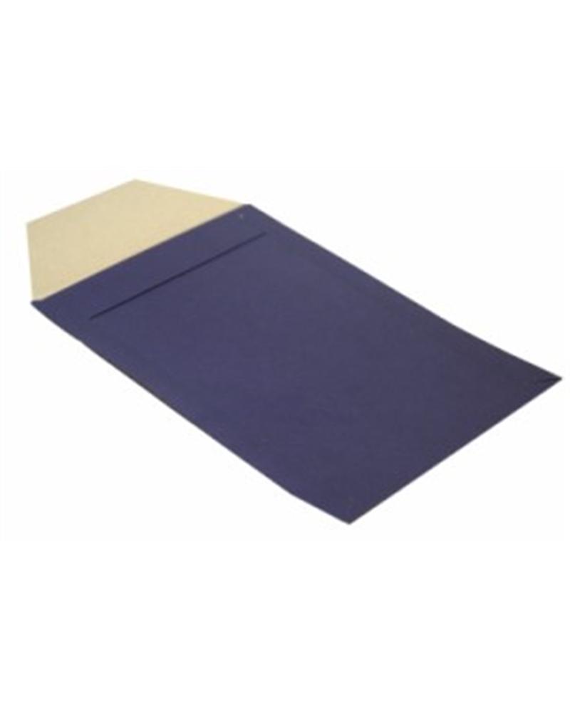 Saco c/Pala Kraft Verjurado Azul - Azul - 21x28cm - SC0031