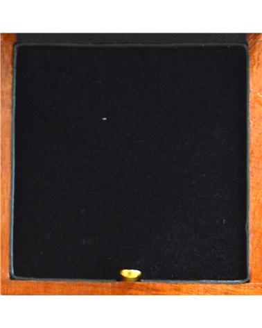 Caixa Madeira Natus Verniz p/Diversos - Castanho - 6.5x6.5x3 #1 - EO0047