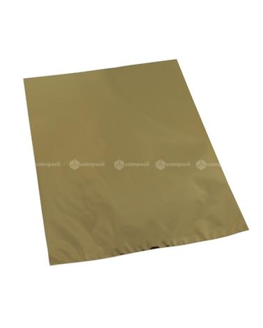 Saco c/ Pala Metalizado Fundo Dourado - Dourado - 16x25 - SC3096