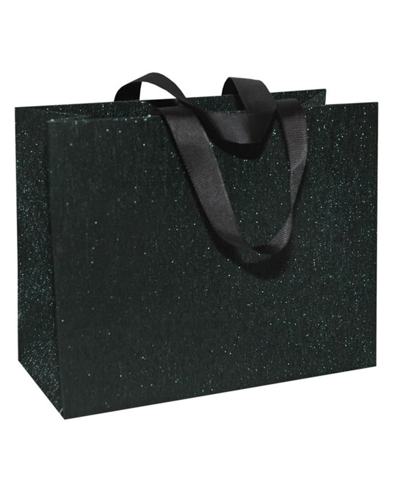 Saco Fita Grosgrain Linha Black Glossy - Preto - 20+09x16 - SC3440