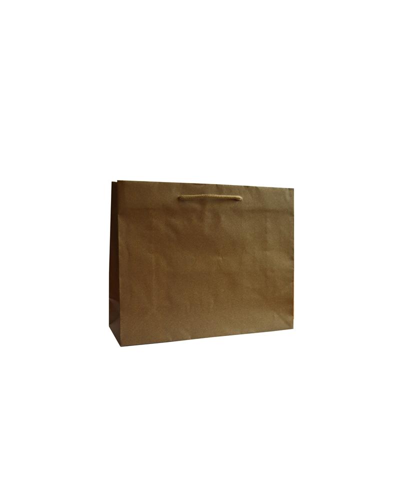 Saco Asa Cordão Linha Ambar - Dourado - 32+11.5x26 - SC3374