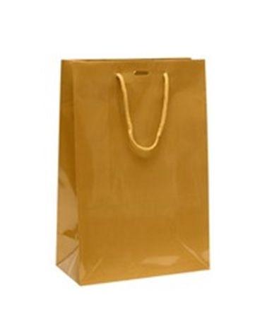 Saco Asa Cordão Dourado com Corte para Fita - Dourado - 24+12x36 - SC0897