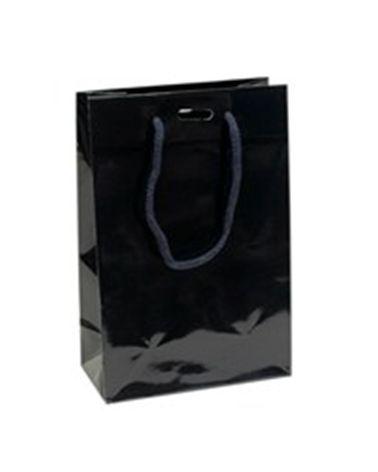 Saco Asa Cordão Azul com Corte para Fita - Azul - 16+08x24 - SC1297